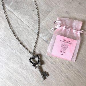 Tarina Tarantino Jewelry - Tarina Tarantino Heart Key Necklace